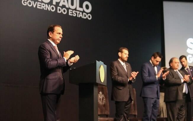 Anúncio foi feito por João Doria.