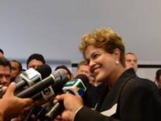 Dilma diz que governo não realizou nenhuma mudança no preço dos combustíveis