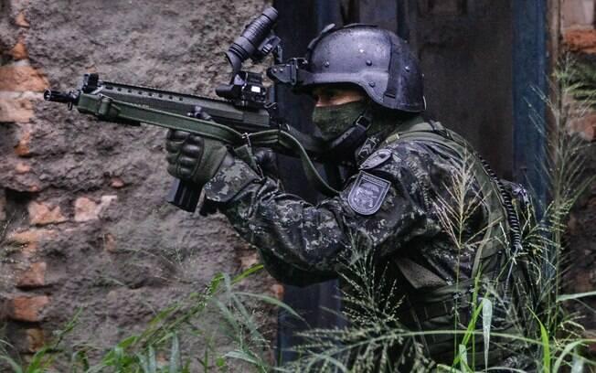 COE realiza operação em Paraisópolis para combater o tráfico de drogas