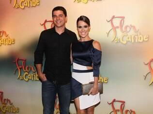 Fernanda Pontes e o marido, Diogo Boni