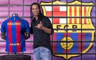 Ronaldinho Gaúcho pode ganhar partida de despedida no Barcelona
