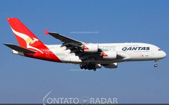 Qantas volta a comercializar voos internacionais