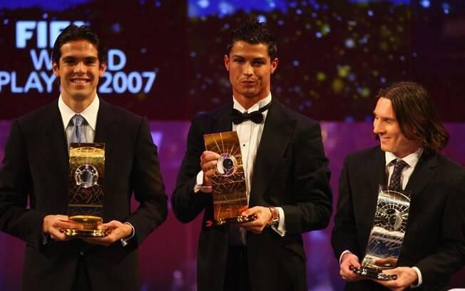 Em 2007, concorreu ao prêmio de melhor  jogador do mundo da Fifa, mas perdeu para o  brasileiro Kaká. Cristiano Ronaldo ficou em  terceiro lugar