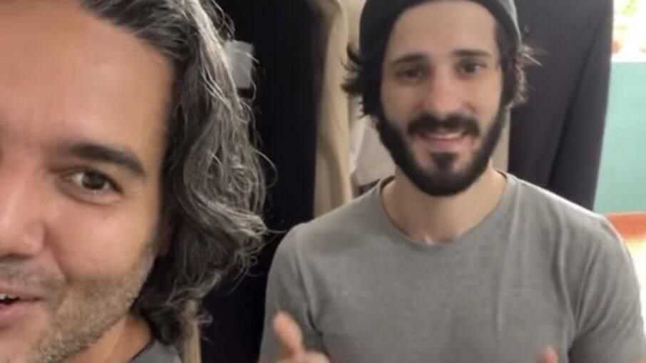 Fernando Sampaio e Marko Izak