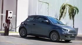 Fiat lança 500 elétrico no Brasil em versão única bem equipada