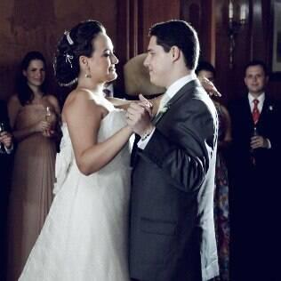 Tainara e Sérgio fizeram questão de um casamento cheio de tradição
