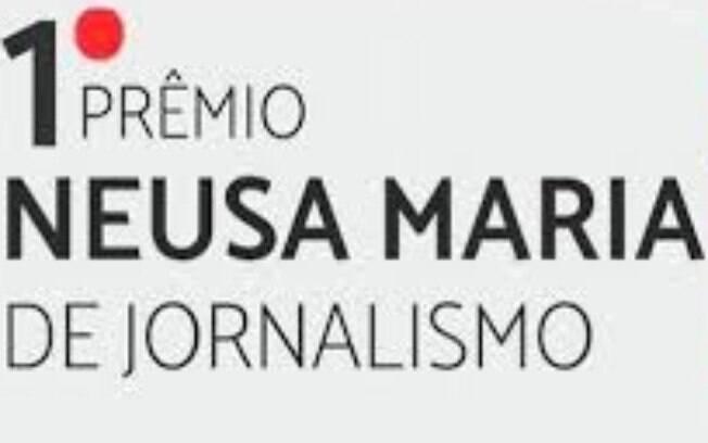 Banner de divulgação do 1º prêmio Neusa Maria de Jornalismo