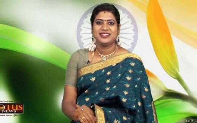 Padmini Prakash é a primeira âncora transgênero de um telejornal na Índia
