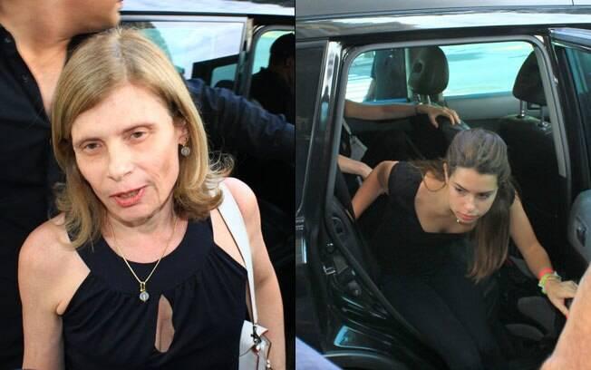 Zélia Cardoso de Mello e a filha Vitória