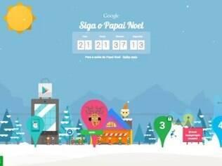 Google lança página 'Siga Papai Noel'