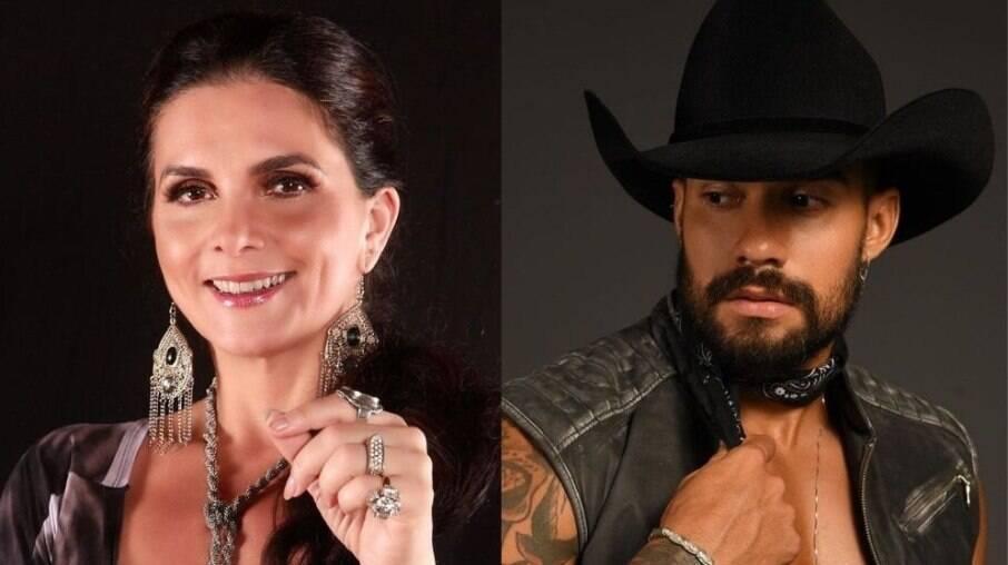 Luiza Ambiel e Arcrebiano Araújo