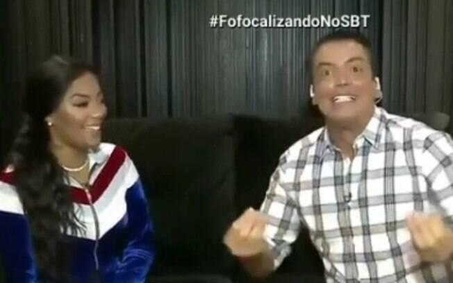 Pode isso Arnaldo? Ludmilla repete look em programas TV ao vivo