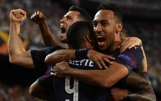 Arsenal se classificou para a final da Liga dos Campeões após vencer o duelo contra o Valencia
