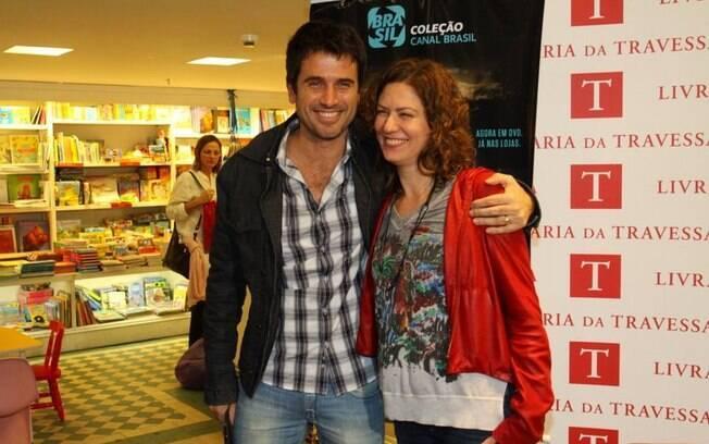 Eriberto Leão e Patrícia Pillar