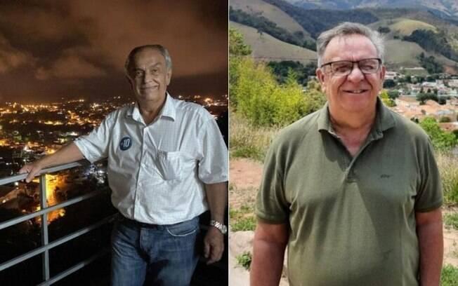 Paulo Cyrillo (esquerda) e Antonio Claret (direita) morreram às vésperas da eleição e o nome dos dois seguiu nas urnas