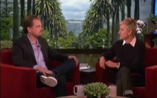 Leonardo DiCaprio revela ataque de tubarão a Ellen Degeneres