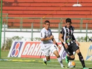 Gabriel foi titular no duelo com o Tupi, no início deste ano, pelo Campeonato Mineiro