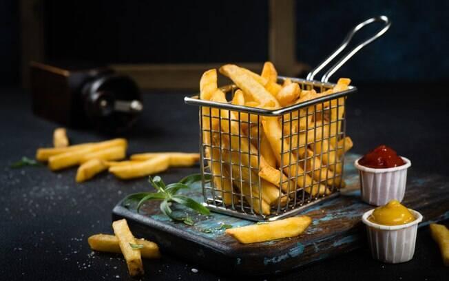 batata frita precisa de oxigênio para ficar sequinha