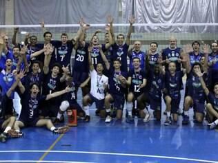 Time infanto do Sada Cruzeiro sagrou-se campeão do Metropolitano na última quarta-feira