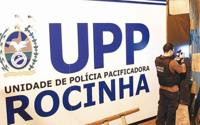 Unidade de Polícia Pacificadora da Rocinha, de onde partiram policiais que teriam iniciado conflito