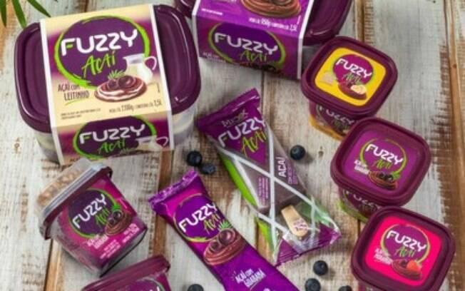 Fuzzy Açaí amplia sua linha de produtos e lança novos sabores
