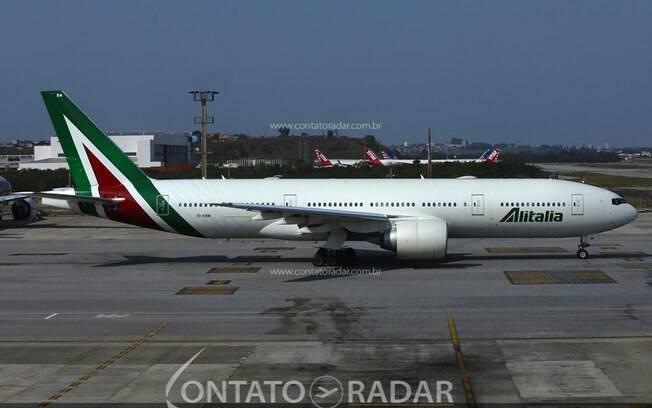 Alitalia realizará mais uma operação em Recife