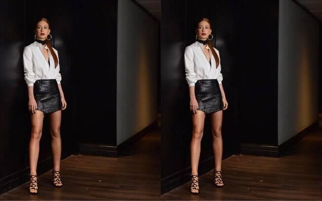 84fbh1dencgvm2oj12dbxtkwl Na moda, famosas abusam da elegância em semana onde os looks escuros dominaram