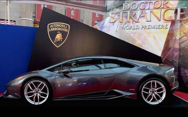 Lamborghini Huracán, superesportivo italiano, brilhou nos filmes da Marvel, em