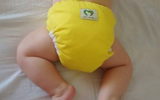 As fraldas de pano são uma opção mais confortável e saudável para as crianças.