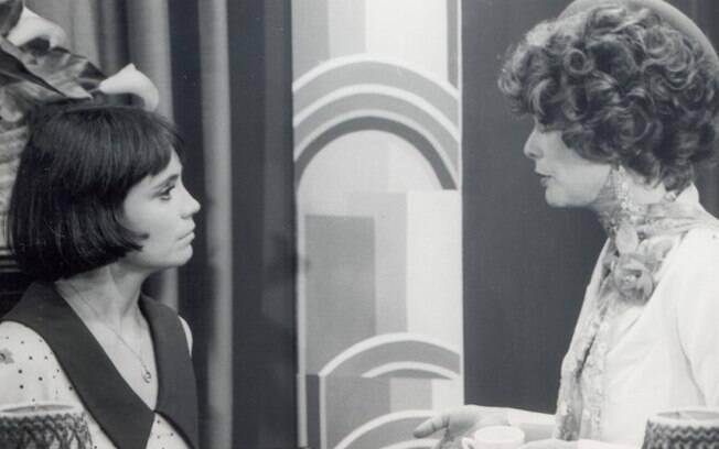 Regina Duarte e Maria Cláudia em cena de