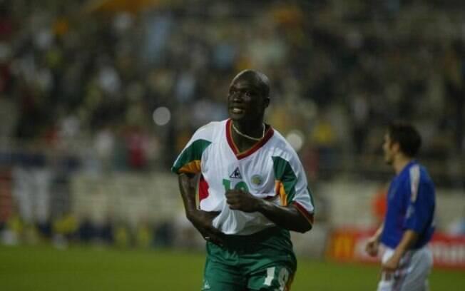 Papa Diop marcou gol histórico por Senegal