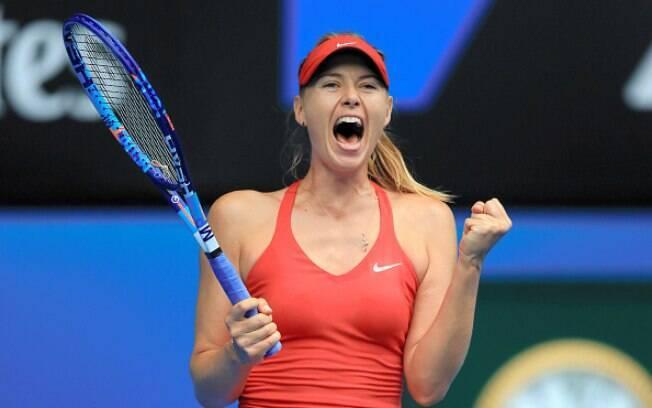 Maria Sharapova está de volta ao tênis