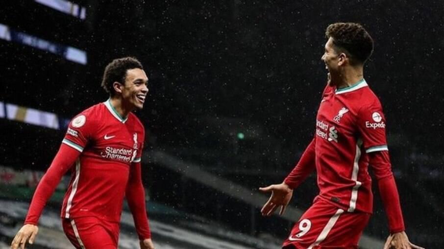 Tottenham x Liverpool