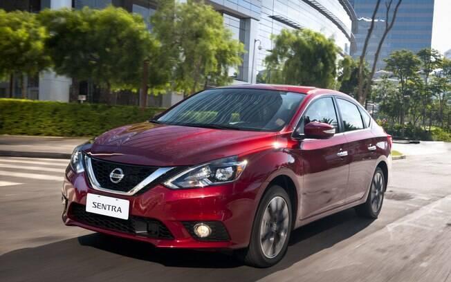 Um dos carros da Nissan mais vendidos nos EUA é o sedã Sentra. Assim como o modelo brasileiro, ele é produzido na fábrica mexicana de Aguascalientes.