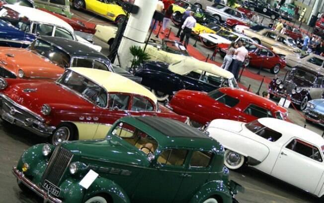 Salão Internacional de Veículos Antigos, no Anhembi, em São Paulo, foi um dos eventos organizados pelo Automóvel Clube