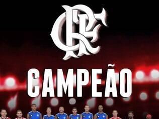 Flamengo conquista a Liga das Américas e faz a festa no Maracanãzinho