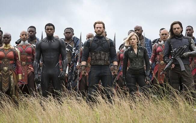 Wakanda vira palco de uma batalha intergaláctica, mas com ares de filmes como