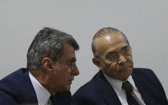 Entre os citados na lista apresentada por Rodrigo Janot estão o senador Romero Jucá e o ministro Eliseu Padilha