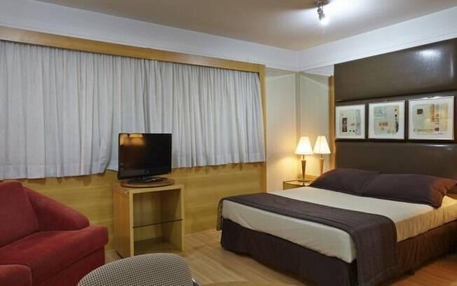 Quarto do hotel Transamerica The Advance São Paulo