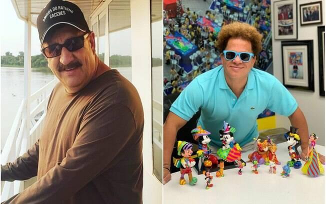 Ratinho e Romero Britto são consagrados à embaixadores do turismo