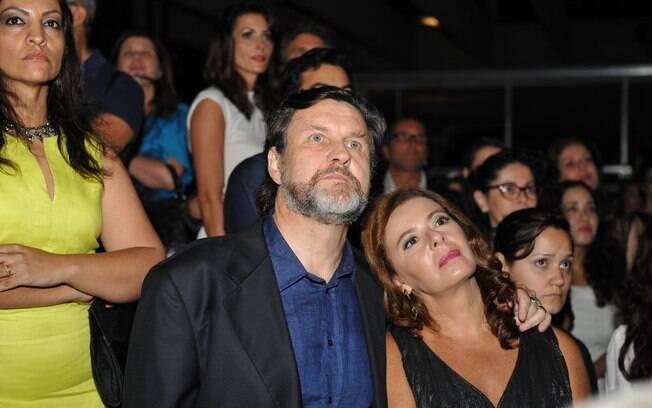 Antonio Calloni e a mulher, Ilse