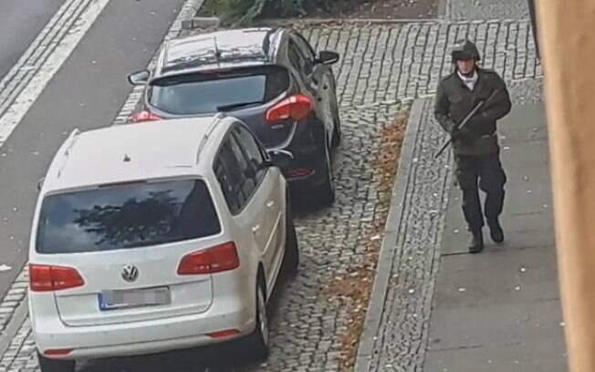 Homem foi preso pela polícia