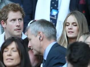 Príncipe Harry e Cressida Bonas tiveram algumas aparições públicas