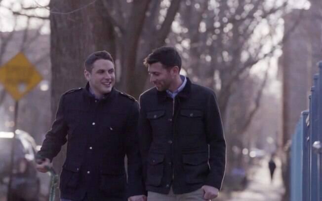 Jared e Nate na cena usada pelo video de anúncio da candidatura de Hillary Clinton à presidência dos EUA, divulgado no domingo (12)