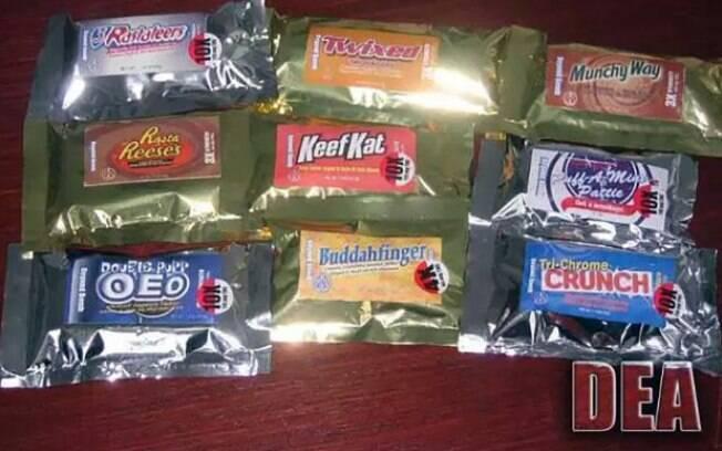 Segundo polícia, embalagens de doces com maconha não têm informações detalhadas e podem confundir