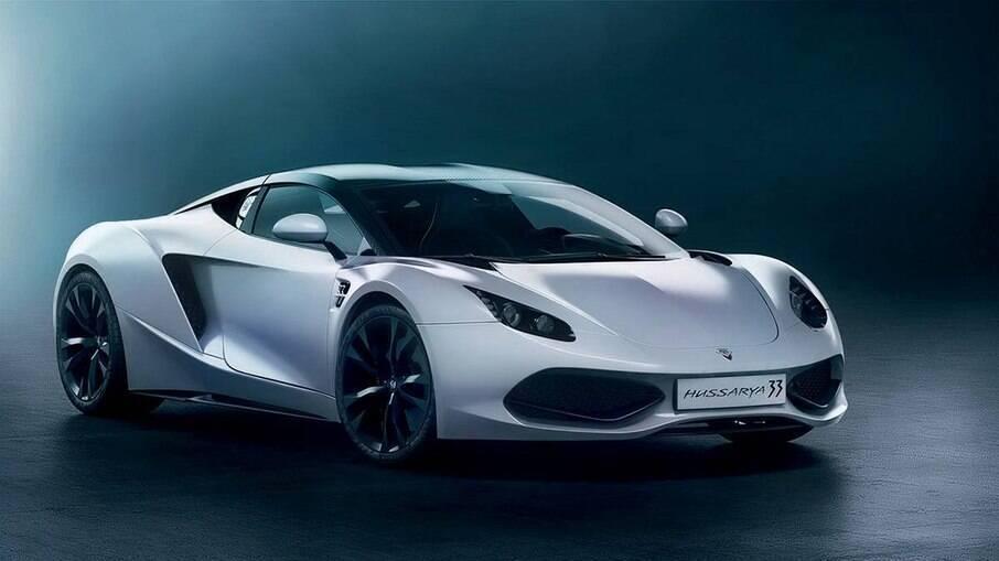 O Hussarya é um superesportivo polonês com motor V8 de 8,3 litros e 789 cv.