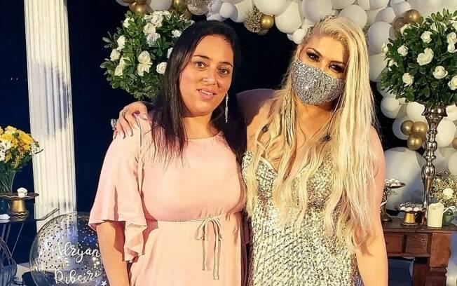 Sirlei Santos e Adryana Ribeiro