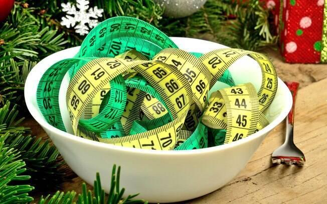 É comum querer saber como manter o peso durante as festas de final de ano e o segredo está em não exagerar