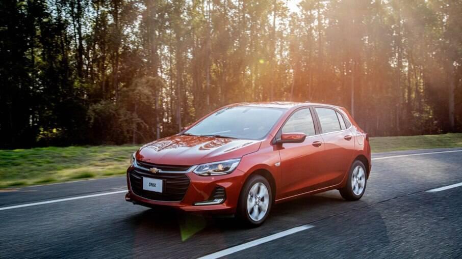 Chevrolet Onix foi o modelo que mais cresceu em procura na OLX, com 66,4% de alta nos seis primeiros meses de 2021