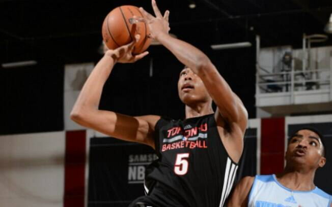 Bruno Caboclo: o jovem vai priorizar a pré-temporada da NBA. Foto: Getty Images